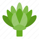 artichoke, food, healthy, vegan, vegetable, vegetarian icon