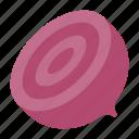 beetroot, food, half beetroot, healthy, vegan, vegetable, vegetarian icon