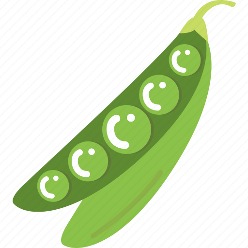 cook, cooking, kitchen, peas, snap, vegetable, vegetables icon