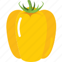 bell, cooking, food, pepper, vegetable, vegetables icon