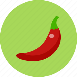 chili, food, food health, red, vegetable icon
