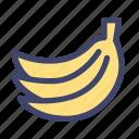 fruit, vegetable, organic, banana
