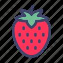 fruit, vegetable, organic, strawberry