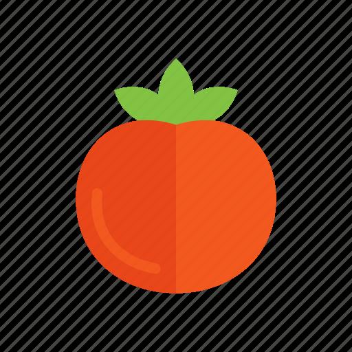 colour, food, garden, plant, red, tomato, vegetable icon