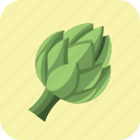 artichoke, food, healthy, meal, nutrition, vegetable, vegetarian icon