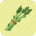 asparagus, diet, food, meal, nutrition, vegetable, vegetarian icon