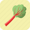 diet, food, healthy, nutrition, rhubarb, vegetable, vegetarian icon