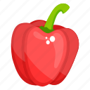 bell pepper, capsicum, pepper, sweet pepper, vegetable icon