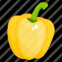 bell pepper, capsicum, vegetable, pepper, sweet pepper icon