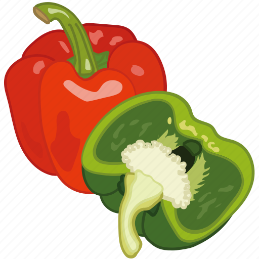 bell pepper, capsicum, cooking, paprika, vegetable icon