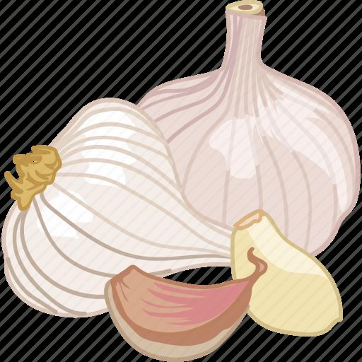 clove, cooking, flavor, flavour, garlic icon