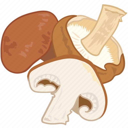 cooking, mushroom, vegetable, veggie, wild icon