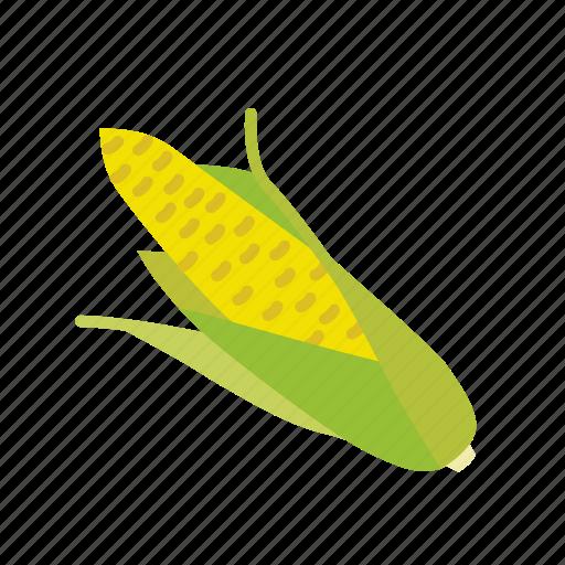 corn, farm, maize, organic, vegetable, vegetarian icon