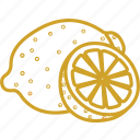lemon, lemon juice, lemon soda, lemon tea, vegetables icon icon