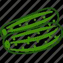 cucumber, cucumber salad, vegetables icon icon