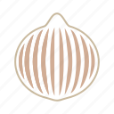 brown, coloredbeans, cook, food, kitchen, onion, vegetable, veggies icon