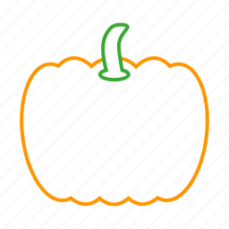 coloredbeans, cook, food, kitchen, orange, pumpkin, vegetable, veggies icon
