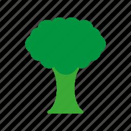 brocolli, coloredbeans icon