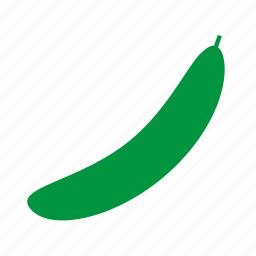 coloredbeans, cucumber icon