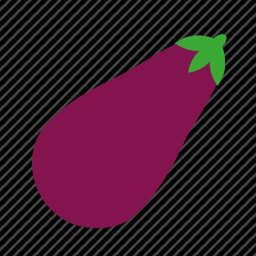 coloredbeans, eggplant icon