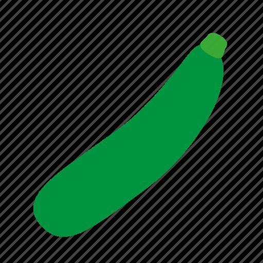 coloredbeans, cook, food, green, kitchen, vegetable, veggie, zucchini icon