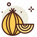 agriculture, garden, onion, vegetable icon