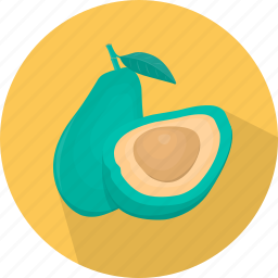 avocado, cooking, food, fruit, kitchen, plant, vegetable icon