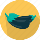 cooking, eggplant, food, kitchen, meal, plant, vegetable icon