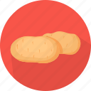 cooking, food, kitchen, meal, plant, potatoes, vegetable icon