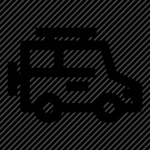 automobile, car, jeep, transport, transportation, travel, vehicle icon