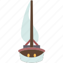sailboat, adventure, nautical, vessel, sea
