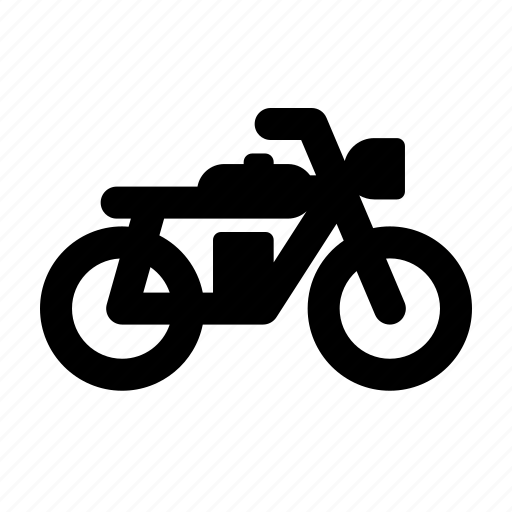 bike, cafe racer, motorcycle, ride, transportation icon