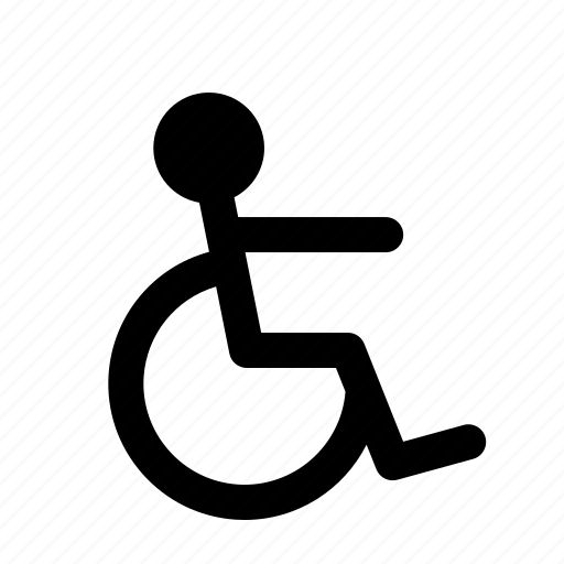 disable, hospital, parking, wheel chair icon