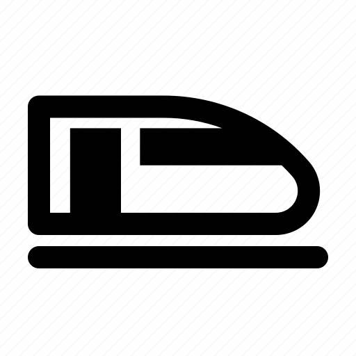 hyperloop, public, train, transportation, travel icon