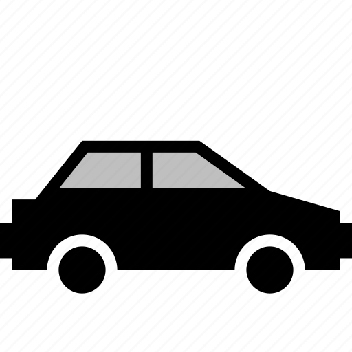 car, side, vehicle icon