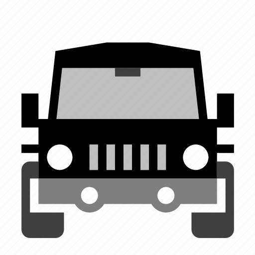 car, front, mpv, transport, van, vehicle icon