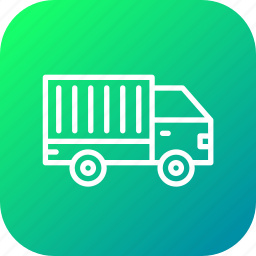 delivery, lorry, transport, travel, truck, van, vehicle icon