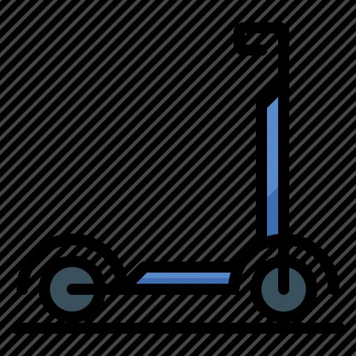 bike, electric, scooter, skateboard icon