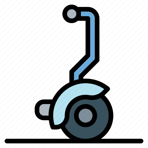 electric, segway, transport, vehicle icon