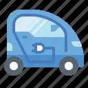 automobile, car, electric, ev, hybrid, mini, vehicle icon