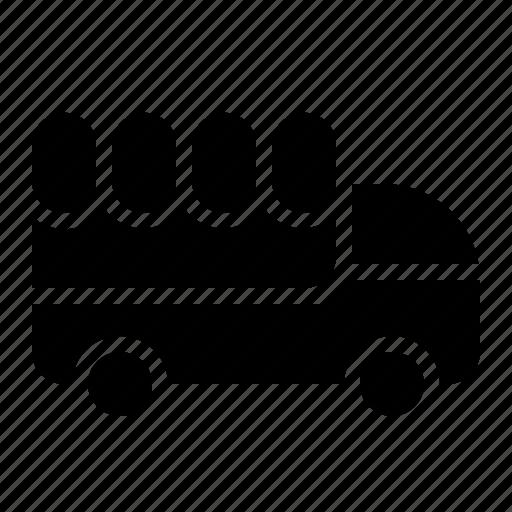 food, transportation, truck, vehicle icon