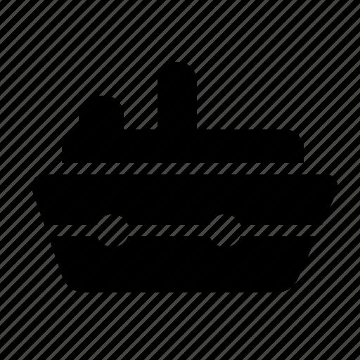 ship, transportation, traveling, vehicle icon