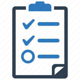audit, checklist, exam, report, survey, test icon