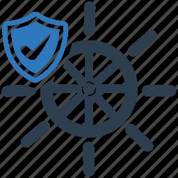 boat, cargo, marine insurance, ship, watercraft icon