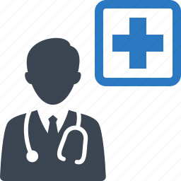 doctor, hospital, medical aid, medical coverage, medical help icon