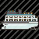 cruise, ship, ocean, passenger, voyage