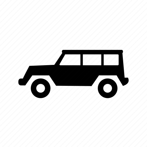 car, hummer, jeep, sports car, suv, travel, vehicle icon
