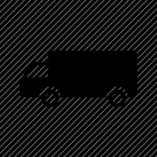 logistics, shipping, shipping truck, transport, transportation, truck, vehicle icon