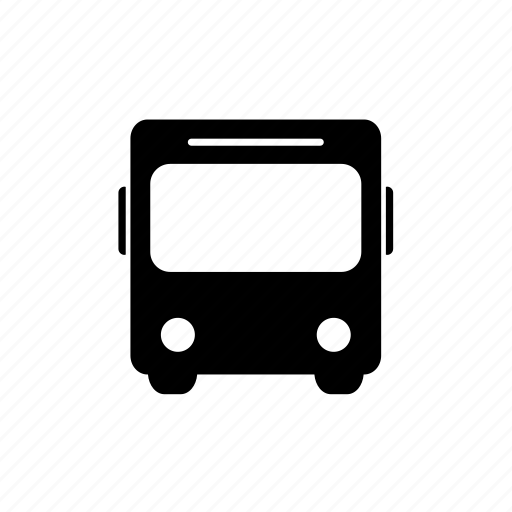bus, journey, public transport, transport, transportation, travel, vehicle icon