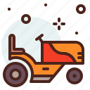 agriculture, engineer, garden, tractor icon